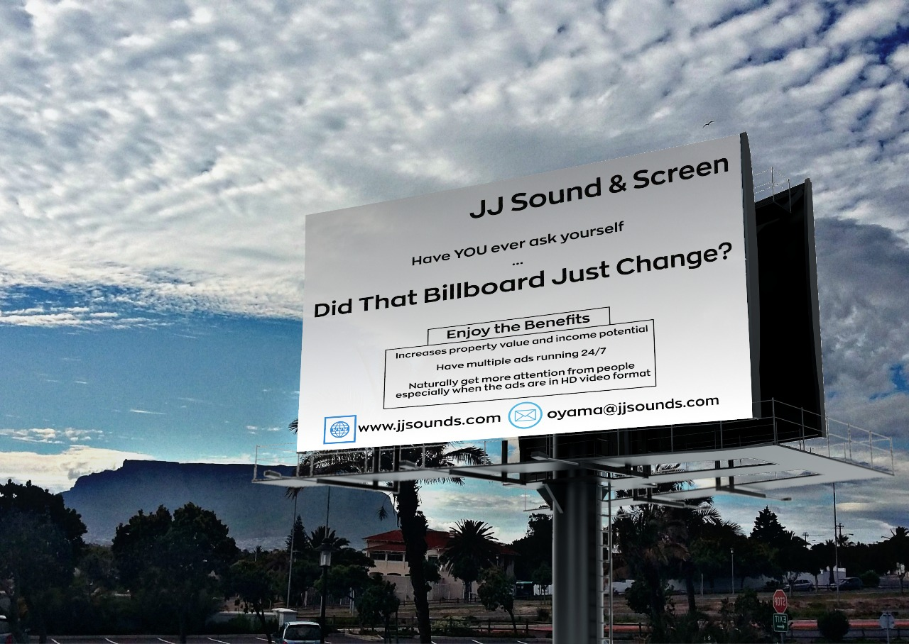 Large format digital billboards and smart advertising screens for sale in Cape Town and Johannesburg